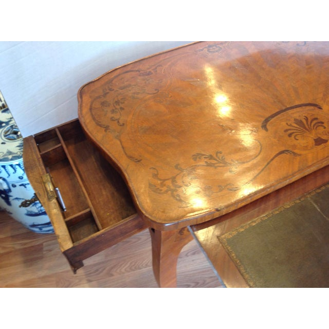 Wood ior 19th Century French Inlaid Vanity For Sale - Image 7 of 13