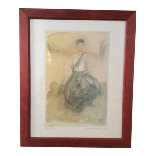 1990s Auguste Rodin Print For Sale