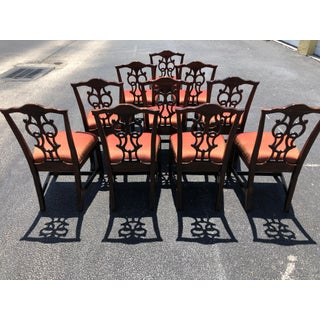 Chippendale Style Dining Chairs - Set of 10 Preview
