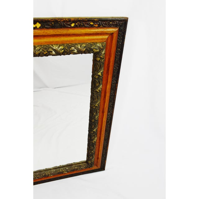 Decorative Wood Gesso Mirror - Image 7 of 11
