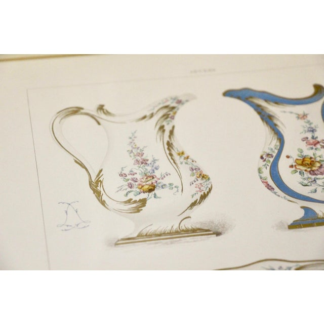 White Sevres Porcelain Illustrated Plates, S/4 For Sale - Image 8 of 9