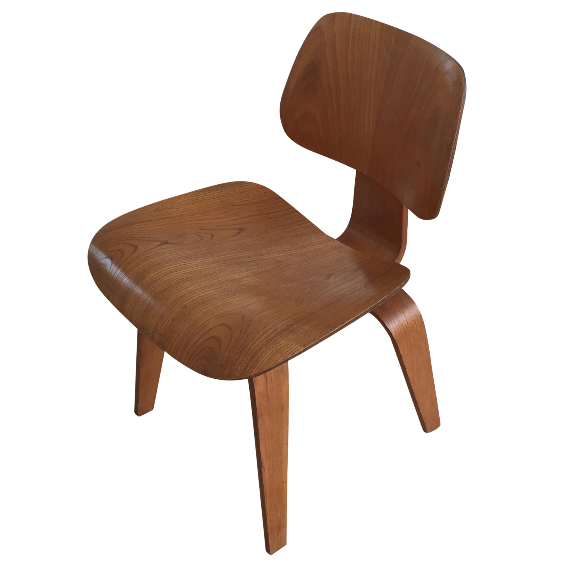 Mid Century Eames Style Dcw Wood Dining Chair Chairish
