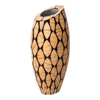 R & Y Augousti French Modern Sculptural Vase For Sale