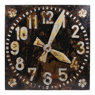 Circa 1850 Antique French Clock For Sale