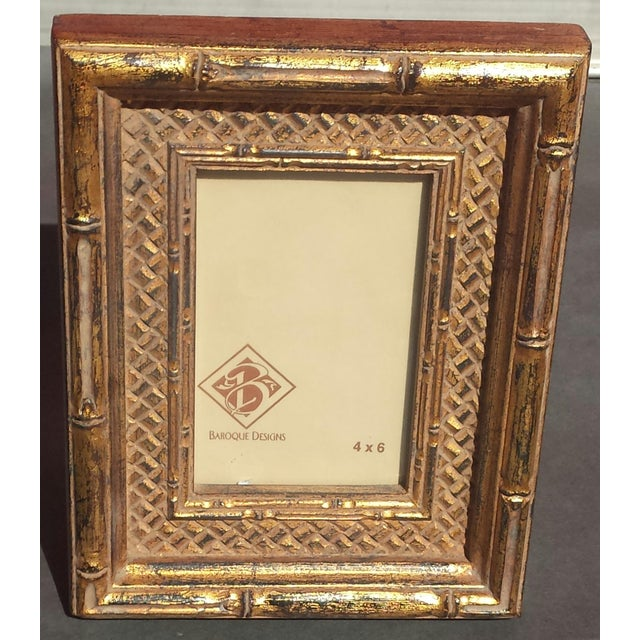 Heavy Carved Wood Gilded Easel Back Picture Photo Frames / Mirror ...