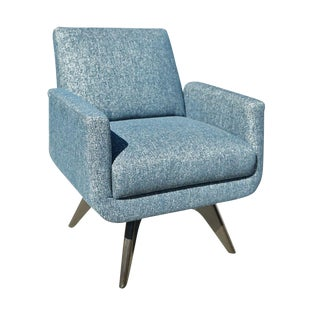 Interlude Home Landon Swivel Chair For Sale