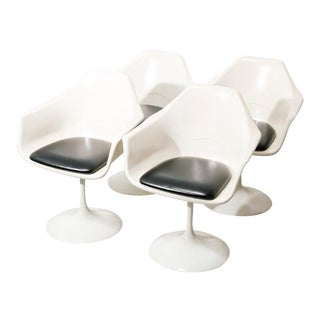 Vintage Fiberglass Tulip Arm Chairs For Sale