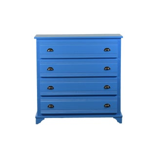 Reclaimed Wood Jolie Blue Chest of Drawers