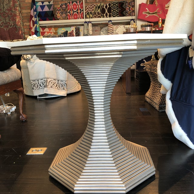 Traditional Bunny Williams Hourglass Table For Sale - Image 3 of 6