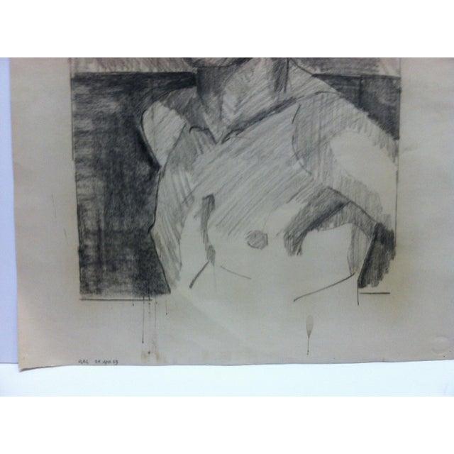 1953 Vintage Black Dandy Tom Sturges Jr. Drawing | Chairish