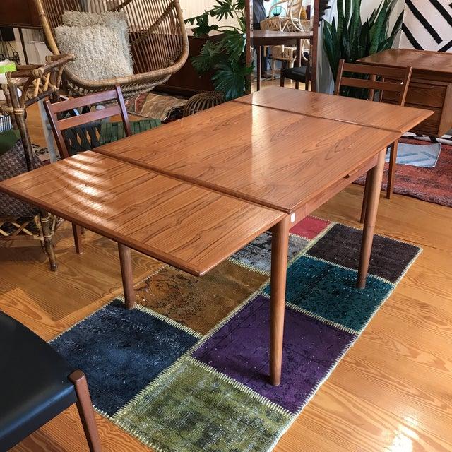 Am Mobler Danish Teak Expandable Table - Image 3 of 10