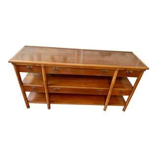 1960s Vintage Convertible Sideboard For Sale