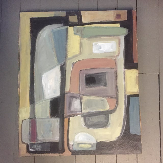 Original Stewart Ross Abstract Painting For Sale In Philadelphia - Image 6 of 6