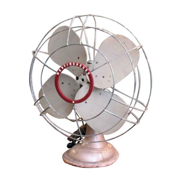 Newly refurbished Westinghouse electric steel fan.