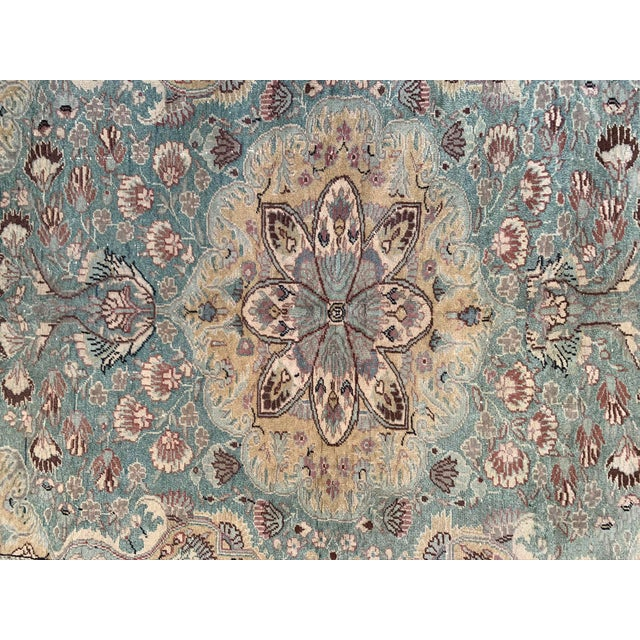 Antique Persian Area Rug- 4′9″ × 6′5″ For Sale - Image 4 of 9