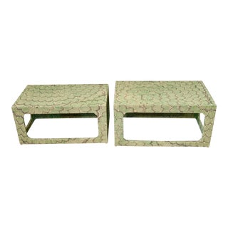 1970s Mid-Century Modern Celerie Kemble Nesting Tables - a Pair For Sale