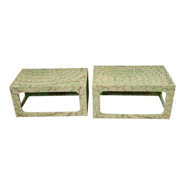 1970s Mid-Century Modern Celerie Kemble Nesting Tables - a Pair For Sale