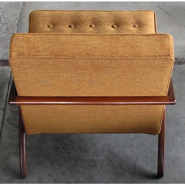 1960s A Sleek and Stylish Pair of American 1960's Ash Grasshopper Chairs For Sale - Image 5 of 7