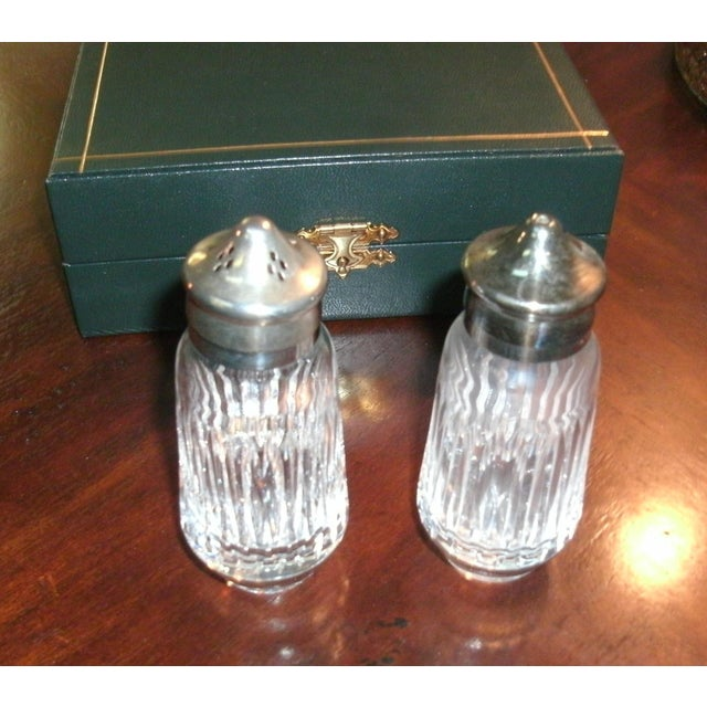 Gucci Salt & Pepper Shakers Set in Formal Presentation Box - a Pair For Sale - Image 10 of 12