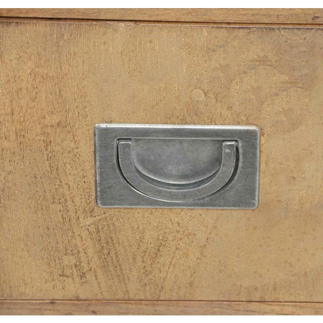 1970s 1970s Henredon Circa 76 Collection Campaign Chest For Sale - Image 5 of 10