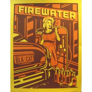 2012 American El Jefe Concert Poster, Firewater For Sale