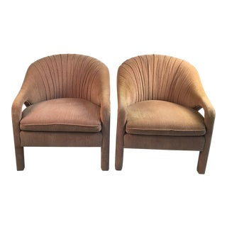1960s Vintage Vladimir Kagan Style Chairs- A Pair For Sale