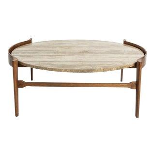 Mid-Century Modern Bertha Shaefer Coffee Table For Sale