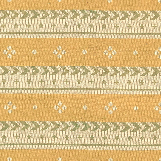 """Mid 20th Century Mid 20th Century Two-Sided Flat Weave Rug - 5'3"""" X 7'9"""" For Sale - Image 5 of 7"""