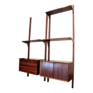 Danish Modern Rosewood Cado Shelving For Sale
