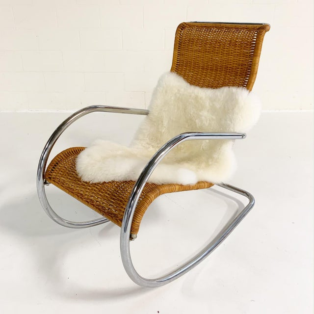 Stendig Stendig Rocking Chair For Sale - Image 4 of 10