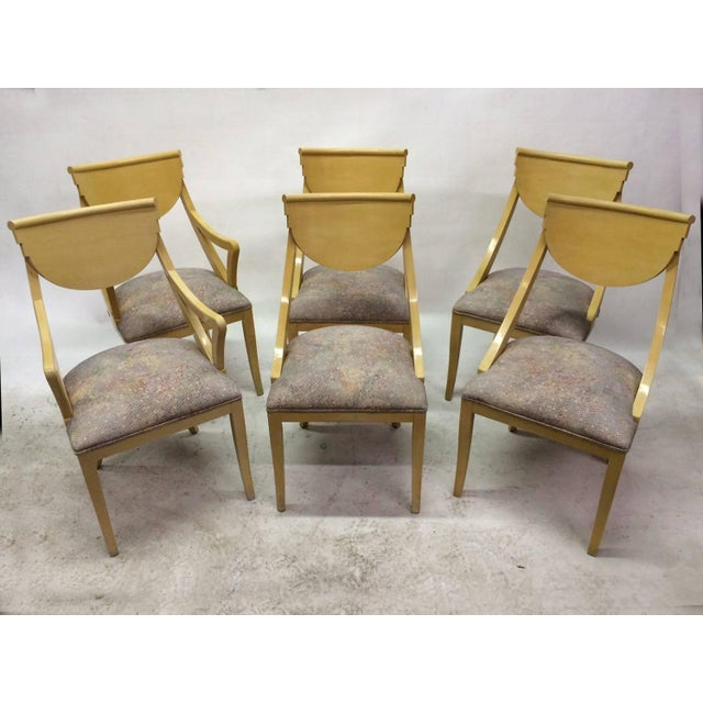 Two Captain & Four Gondola Dining Chairs - Set/6 - Image 2 of 6