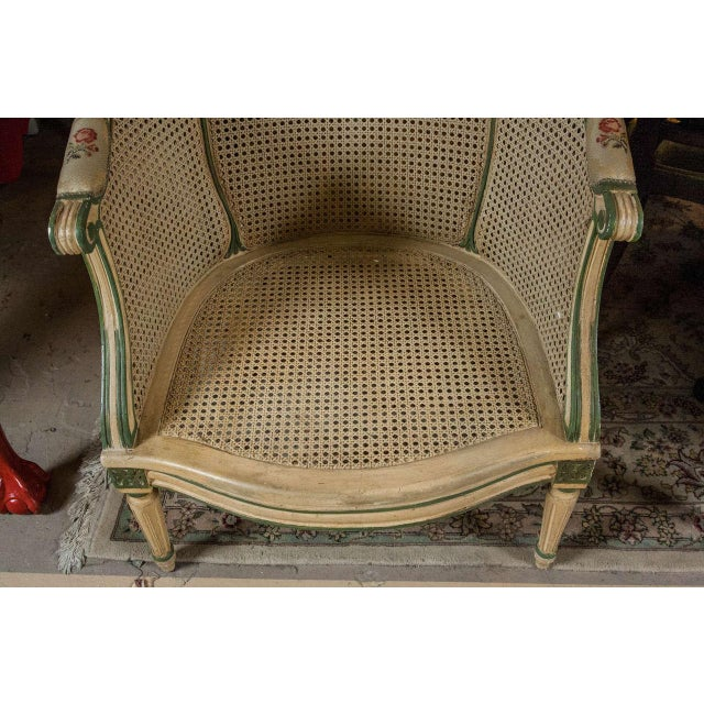 Louis XVI Style Bergere Chairs - A Pair - Image 7 of 7