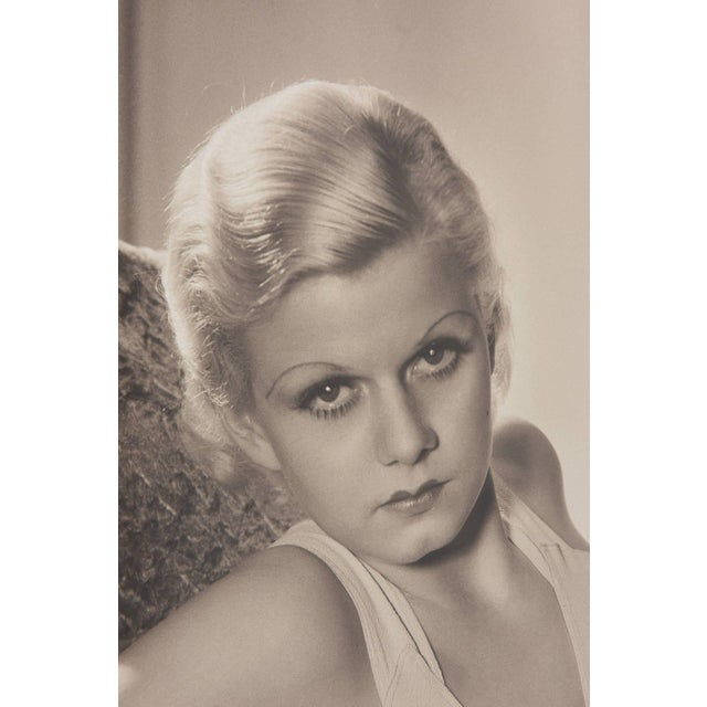 Early 21st Century Large-Scale, Iconic Photograph of Jean Harlow, George Hurrell, 1932 Ltd Ed Coa For Sale - Image 5 of 11