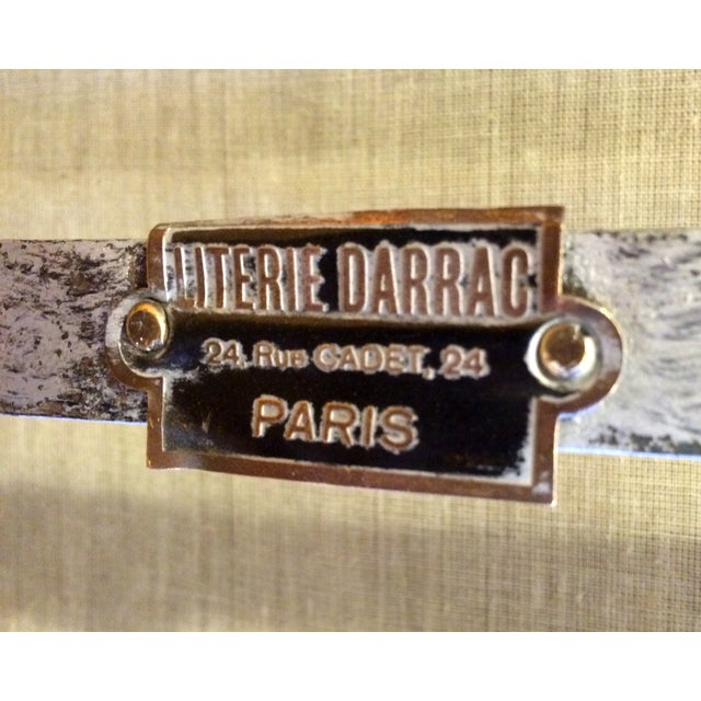Silver Vintage French Solid Brass Baby Crib For Sale - Image 8 of 11