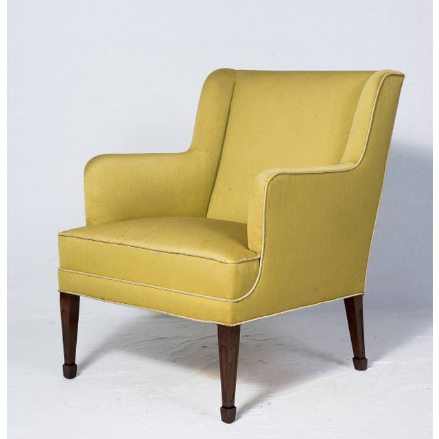 Pair of Frits Henningsen lounge chairs. Store formerly known as ARTFUL DODGER INC