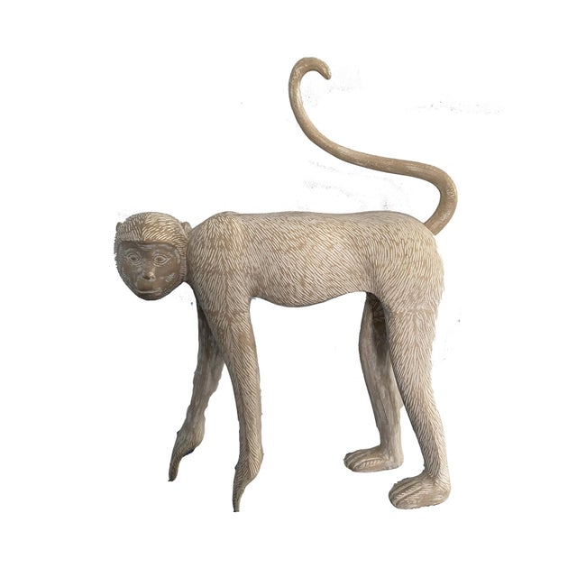 Large Modernist Monkey Sculpture, Manner of Lalanne For Sale In New York - Image 6 of 6
