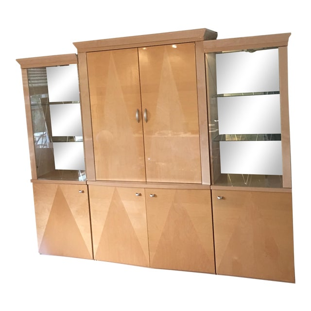 Wall Unit From Italy Lighted - Image 1 of 11