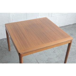 20th Century Danish Modern Teak Side Table Preview