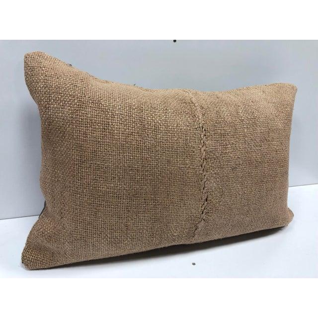 Turkish Handmade Decorative Kilim Pillow For Sale In Phoenix - Image 6 of 6