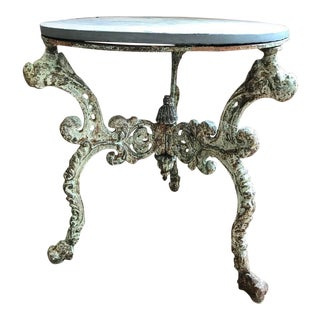 19th Century Cast Iron Table Base For Sale