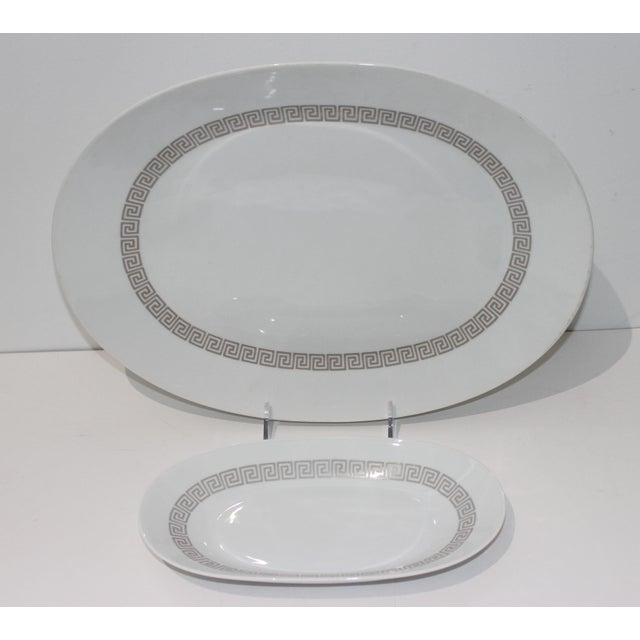 """Mid-Century Modern Mid-Century Modern Rosenthal """"Athenia"""" Dinner Service for 8 Plus Serving Pieces - 63 Items Total For Sale - Image 3 of 13"""