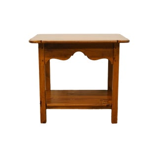 Ethan Allen Country Craftsman Tiered End Accent Table For Sale