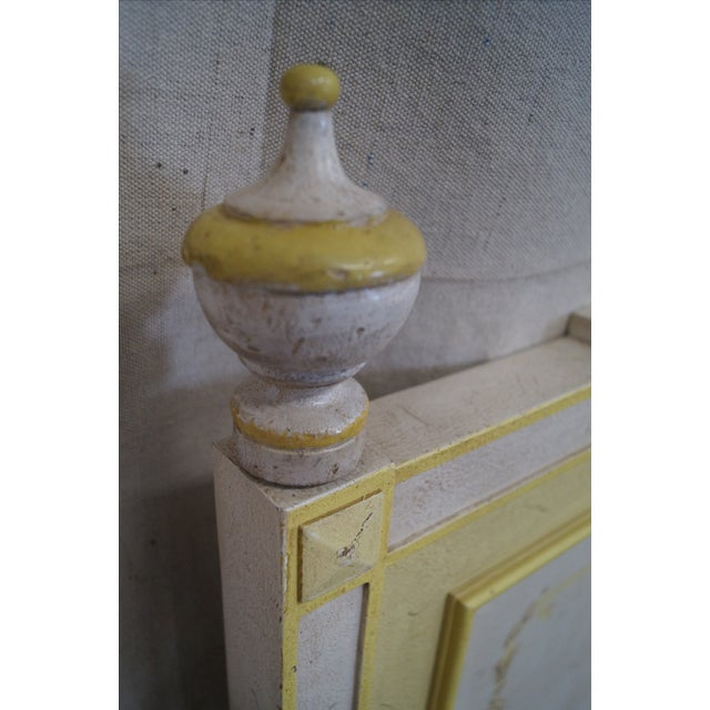 Widdicomb Hand Painted French Style King Headboard - Image 5 of 10