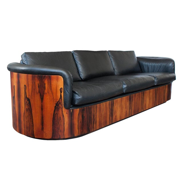 George Mulhauser for Plycraft Rosewood Case Sofa - Image 6 of 11