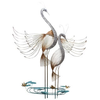 Wall Sculpture 'Herons' by Curtis Jere For Sale