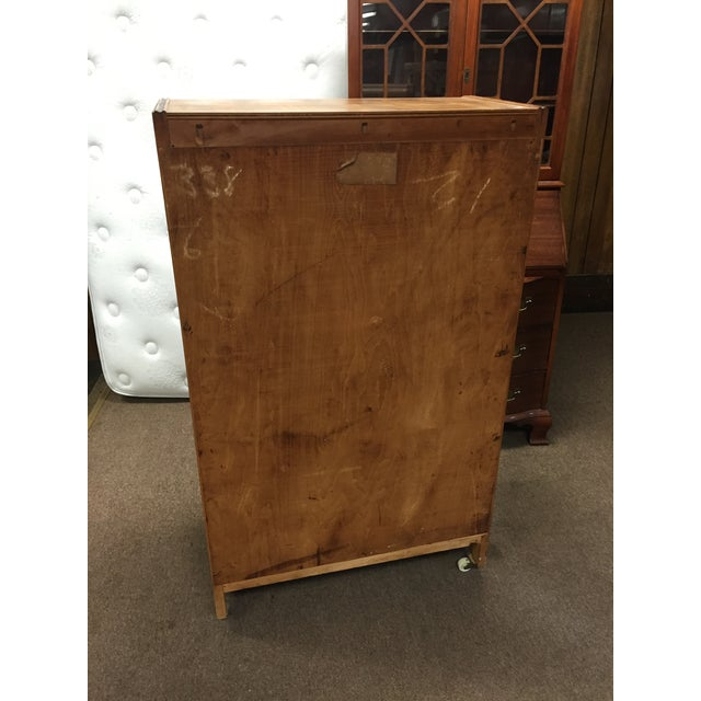 Art Deco Tall Dresser with Drawers - Image 6 of 11