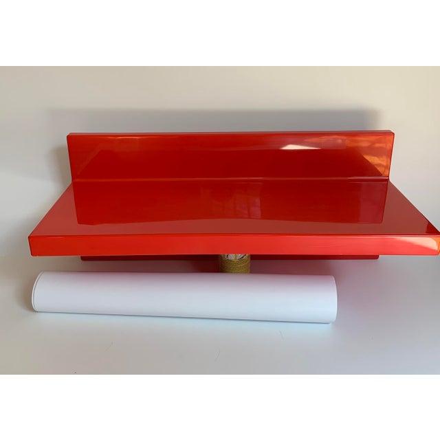 Vintage Kartell Plastic Shelves-a Pair For Sale - Image 9 of 12