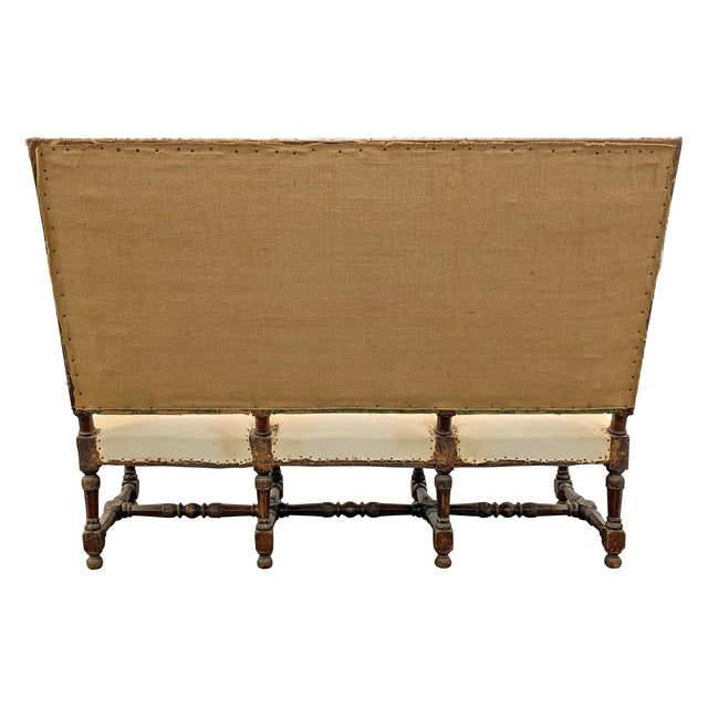 Louis XIV Settee For Sale - Image 10 of 11