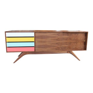 Mid-Century Inspired Credenza For Sale