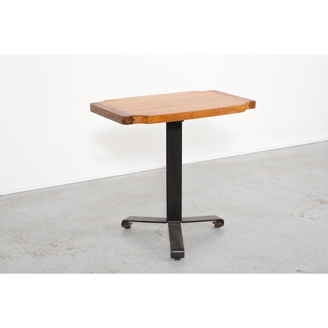 Mid-Century Modern Les Arcs Occasional Table by Charlotte Perriand For Sale - Image 3 of 10
